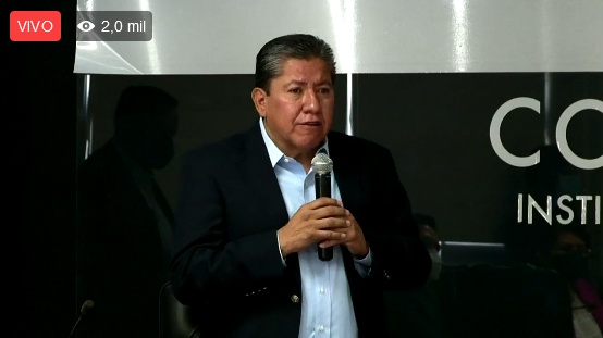 Registro de David Monreal como candidato a la gubernatura de Zacatecas (Video)