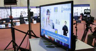 Amplia cobertura mediática del debate por la gubernatura organizado por el IEEZ